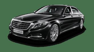 Mercedes S Class Hire Black