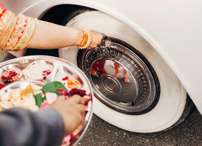 Asian Weddings Classic Car