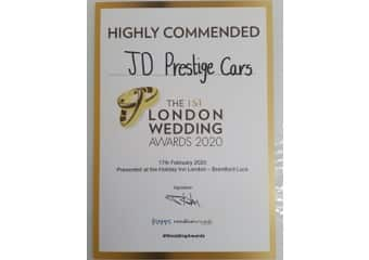 London Wedding Cars Winner