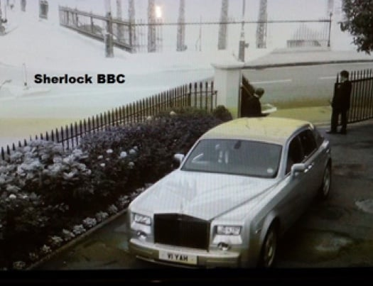 Sherlock Rolls Royce