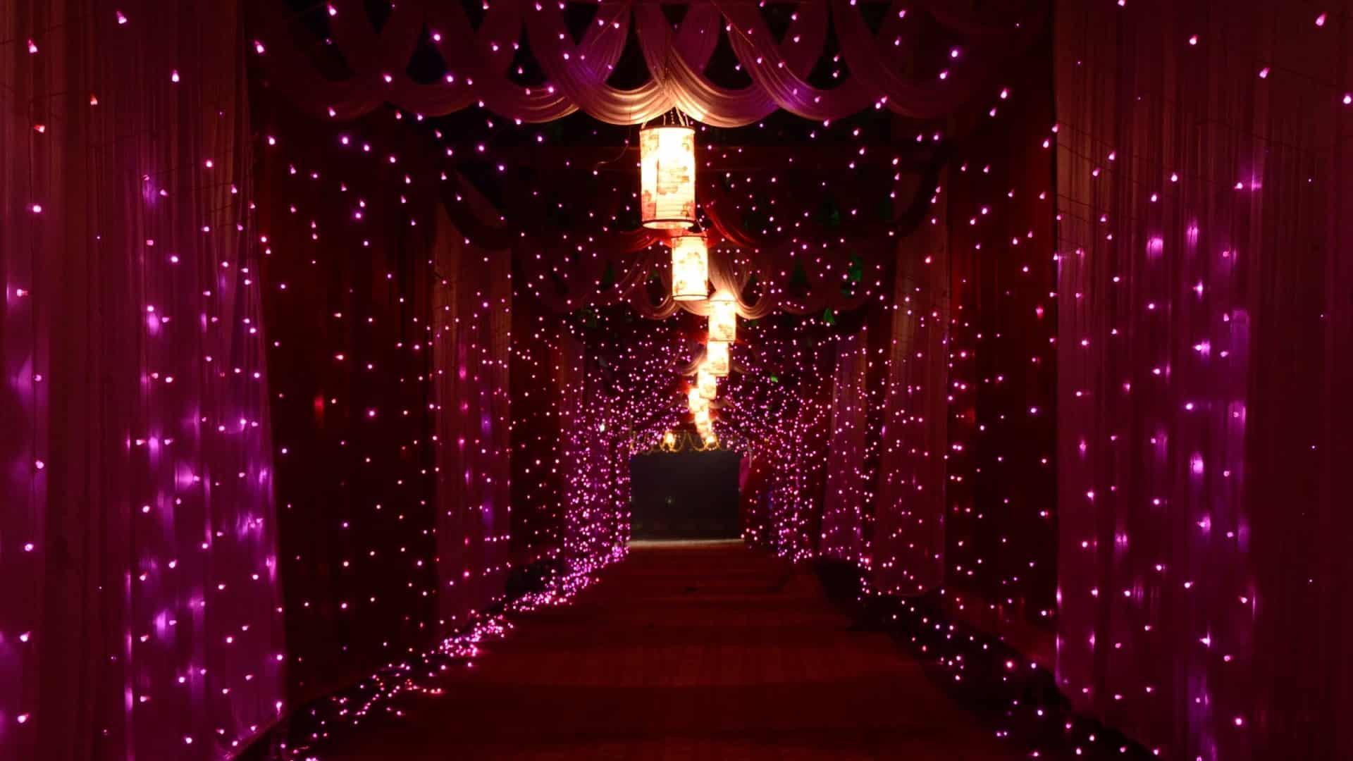 House Wedding Lights
