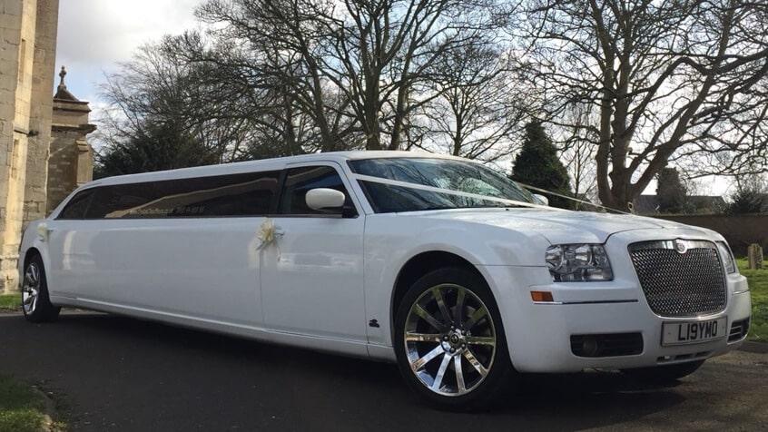 Chrysler Limo Hire White