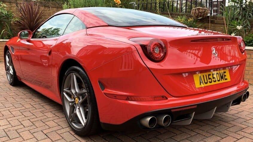 Ferrari Hire Wedding