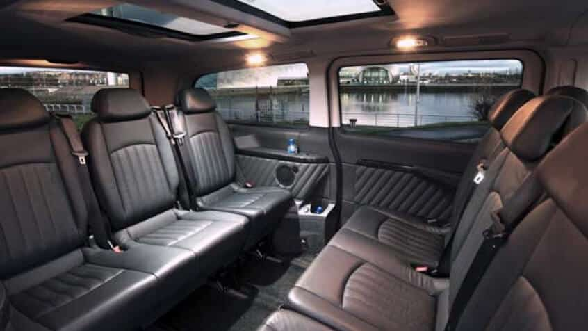 viano Hire interior