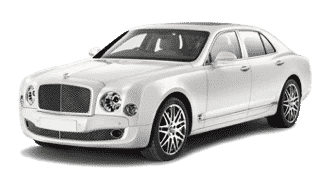 Bentley Mulsanne White hire