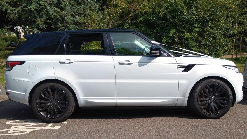 Range Rover Sport Hire Weddings