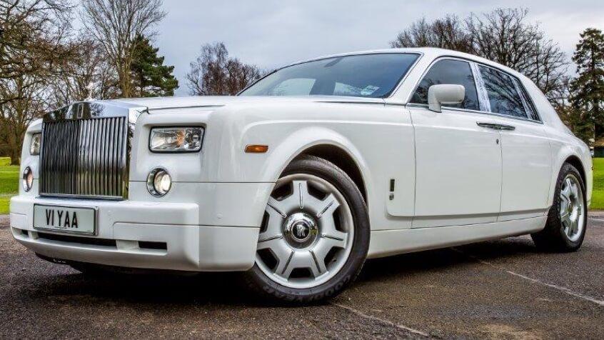 Rolls Royce Phantom Hire Weddings