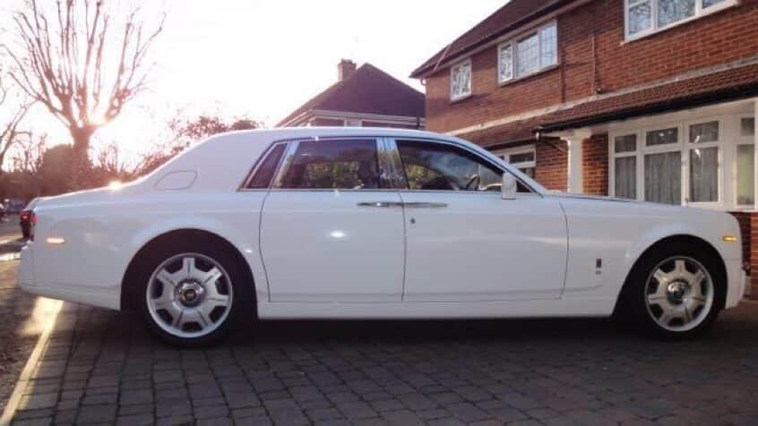 Bridal Rolls Royce Hire