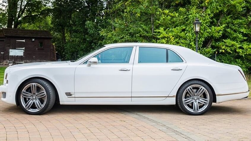 Mulsanne Hire White