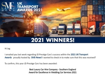 Uk Transport Awards 2021